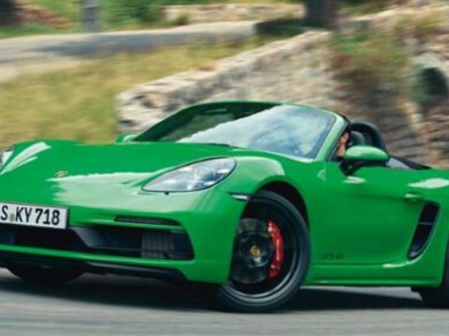 Porsche Launches 718 GTS 4.0 Models