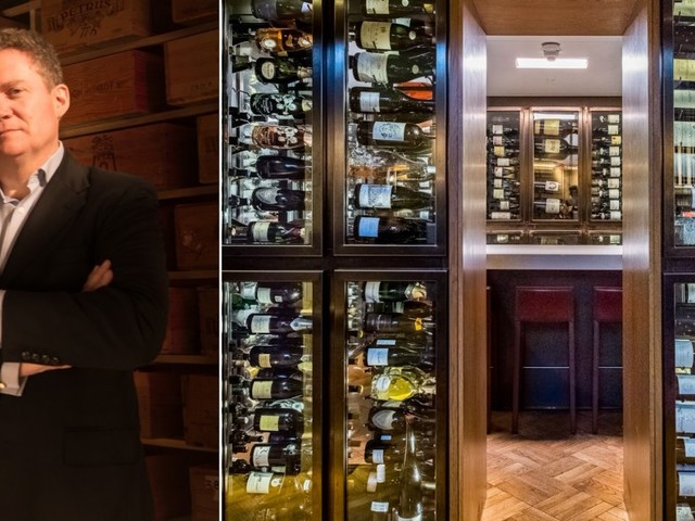 How a City trader raised £8 million to open the world's first private members' wine club with 26,000 bottles in a Fort Knox-style cellar