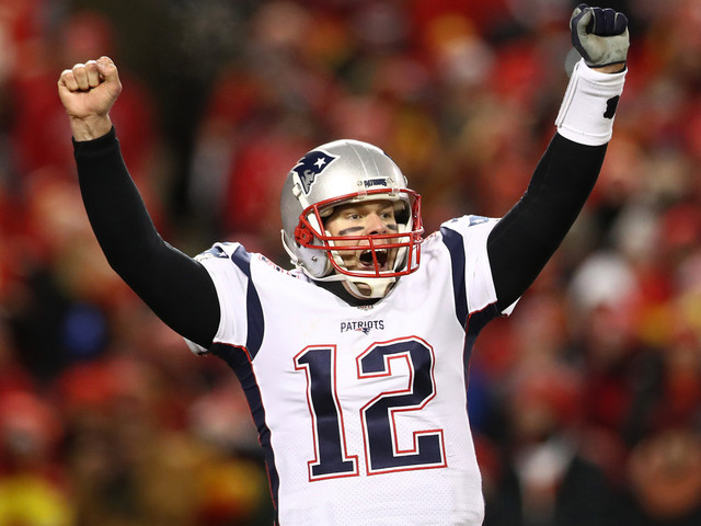 Tom Brady drops F-bomb before getting his smuggest