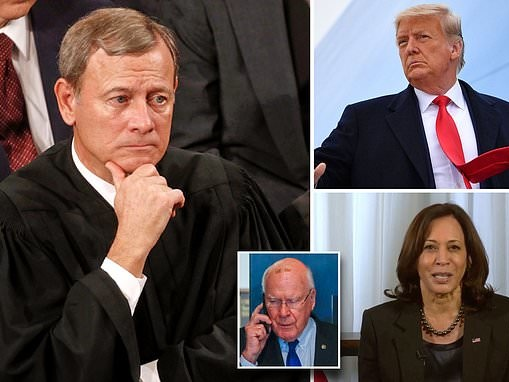 Chief Justice John Roberts does NOT want to preside over Donald Trump's second impeachment trial