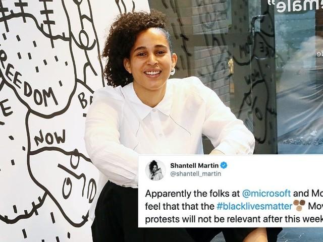 Artist Shantell Martin slammed Microsoft for asking her to make a Black Lives Matter mural while it's 'still relevant'