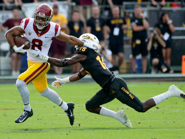 USC survives Arizona State comeback effort