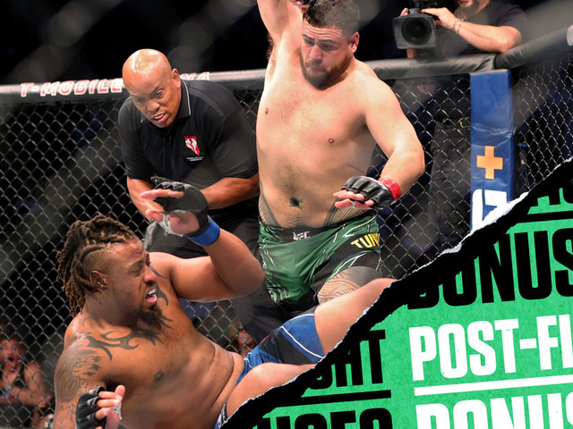 UFC 264 post-fight bonuses: Tuivasa starches Hardy for POTN honors