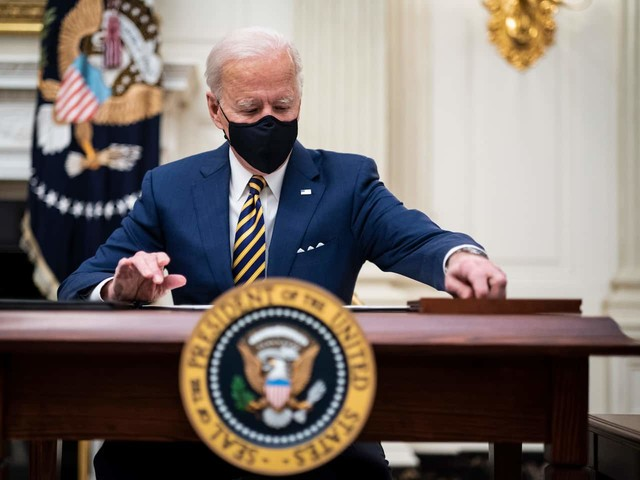 Biden is firing some top Trump holdovers, but in some cases, his hands may be tied