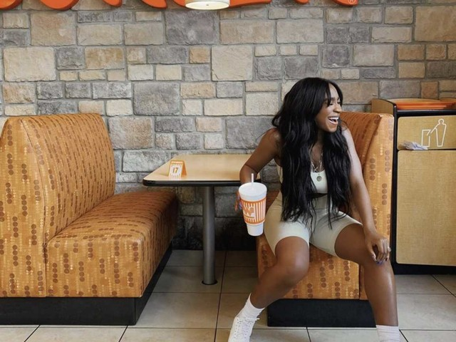 Normani's Texas homecoming includes stops at Whataburger and Rose Gold nightclub