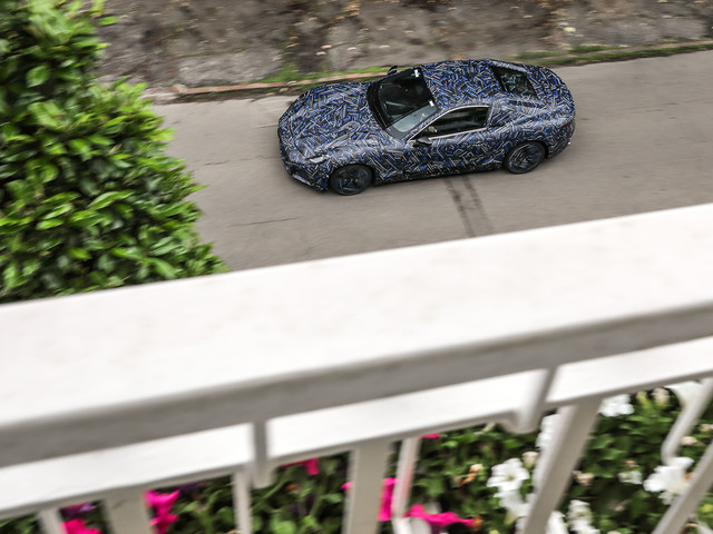 This Just In: Maserati Gran Turismo Prototype Glimpsed on the Streets of Modena