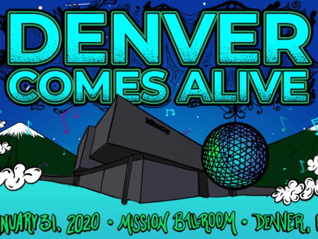 Denver Comes Alive Announces 2020 Lineup