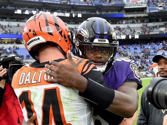 Is Andy Dalton the worst scout team Lamar Jackson? No, but he's close: an investigation