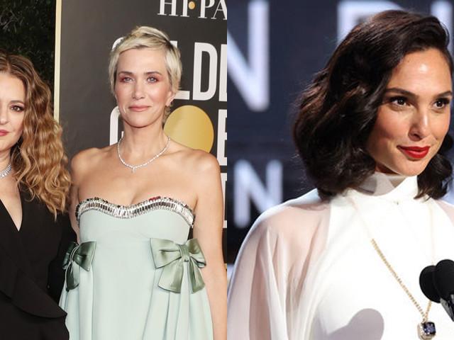 Gal Gadot, Kristen Wiig & Annie Mumolo Hit The Golden Globes As Presenters!