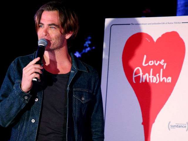 Chris Pine Debuts Trailer for Anton Yelchin Documentary 'Love, Antosha' at Hollywood Forever!