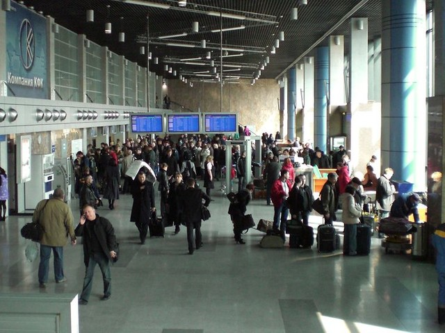 The airport of the future will have extremely complicated lines