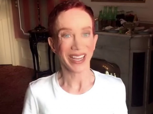 Kathy Griffin says she's been 'blacklisted' from work since insulting Trump