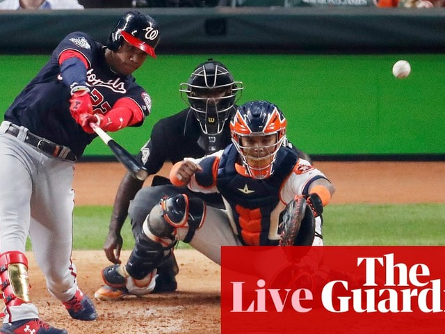 World Series Game 1: Washington Nationals v Houston Astros – live!