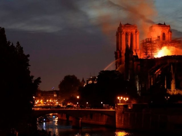 Part of the reason Notre Dame is still standing is apparently a smart design choice by its medieval architects
