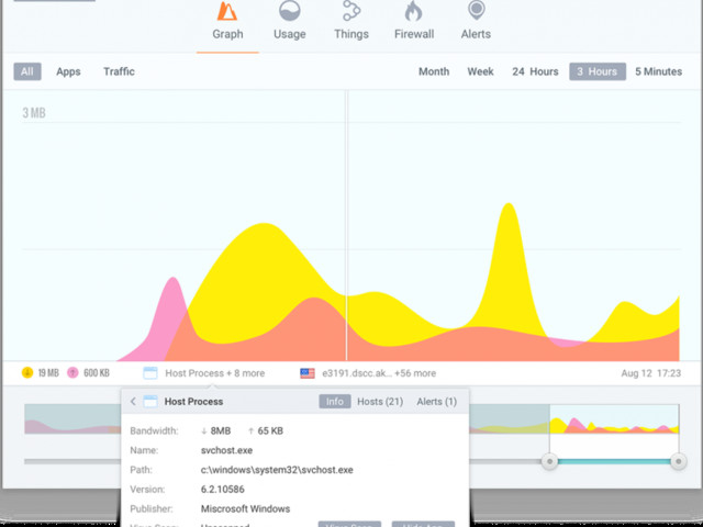 GlassWire 2.0 unveils major redesign, adds more network monitoring and protection tools