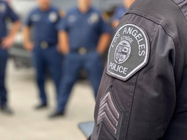 LAUSD board cuts $25 million from school police, puts it toward hiring mental health workers