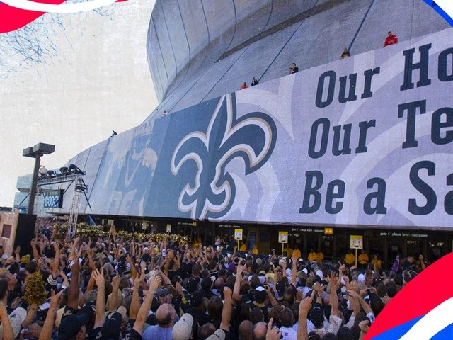 The Saints' rebirth was complete when they went back home