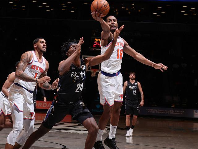Knicks leapfrog Nets in unstable NBA rankings