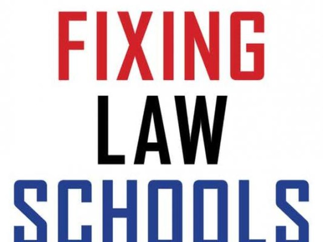 Author discusses book on problems law schools face