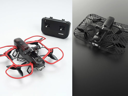 Foldable Hover 2 Drone Features Advanced Obstacle Avoidance