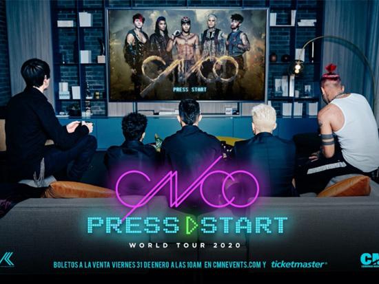 Hot Ticket! CNCO Announces Dates For 'Press Start Tour'