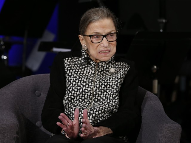 Ruth Bader Ginsburg declares she's 'cancer free'