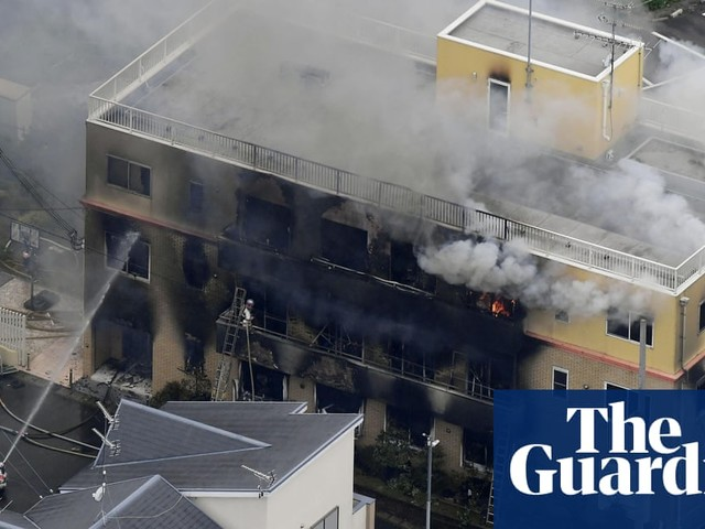 Kyoto Animation fire: 12 feared dead after suspected arson attack on studio in Japan
