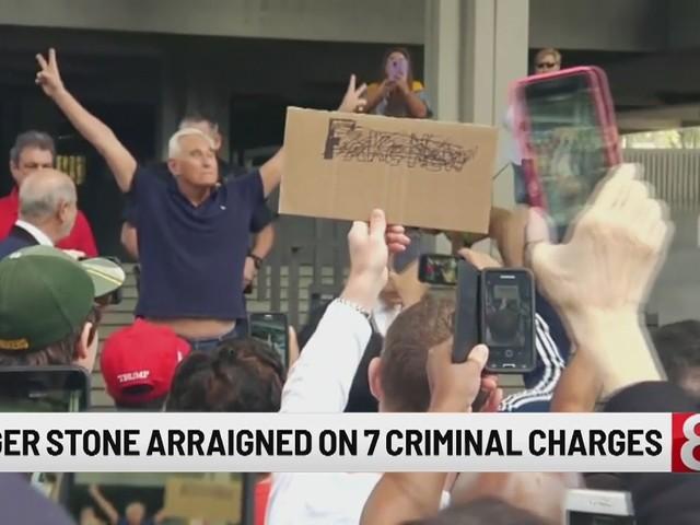 Trump friend Stone pleads not guilty in Russia probe case