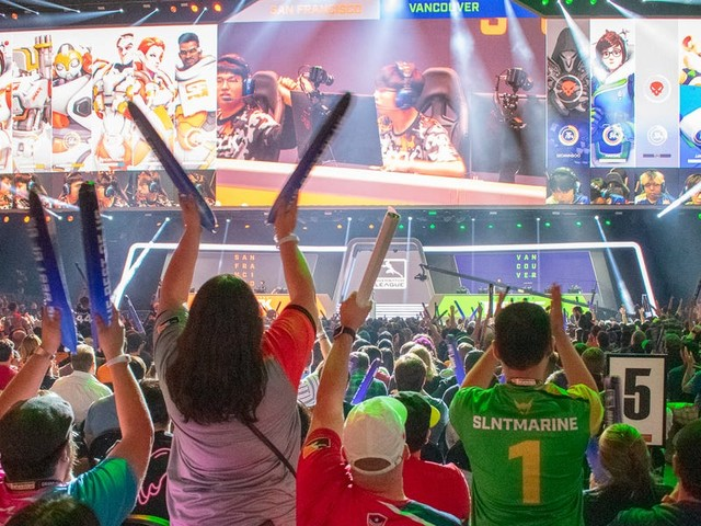 The Overwatch League Grand Finals showed what the future of professional esports could look like. Here's what it was like at the event.
