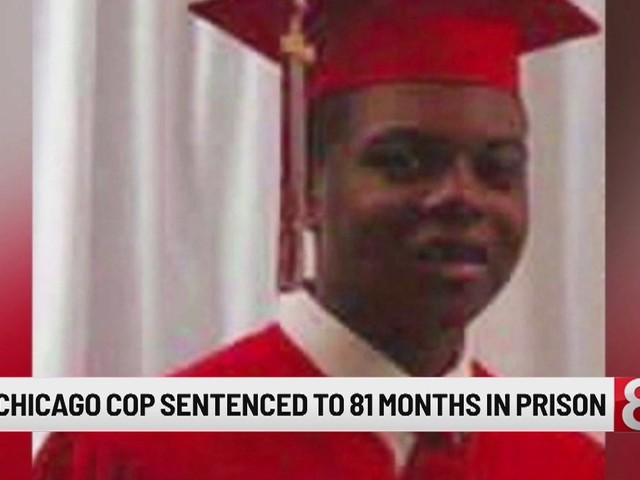 Officer who shot black teen sentenced to nearly 7 years