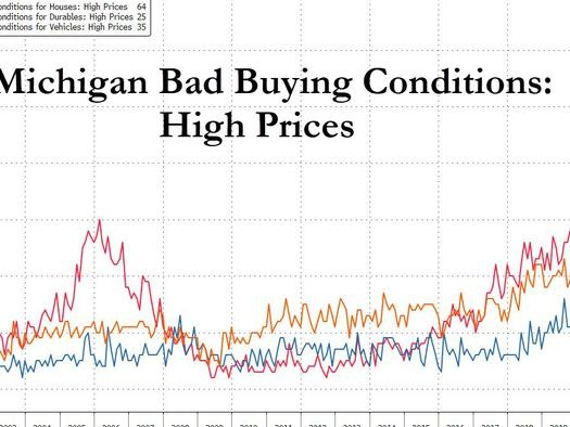 The Hangover Arrives: Explosive Inflation Leads To Record Collapse In Home, Car Purchase Plans