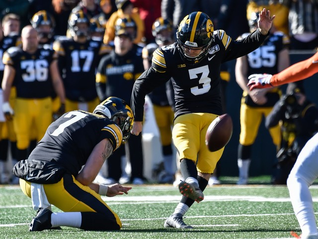 Iowa's Keith Duncan took expensive path -- six-figure debt -- to become one of college football's best kickers