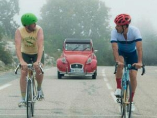 On two wheels, 'The Climb' rides through Cannes as a hit