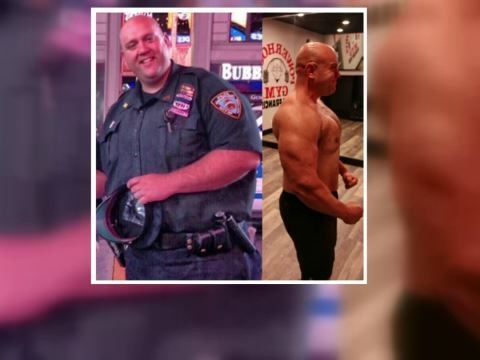 NYPD Lieutenant Hopes To Inspire Others With His Tremendous Weight Loss Journey