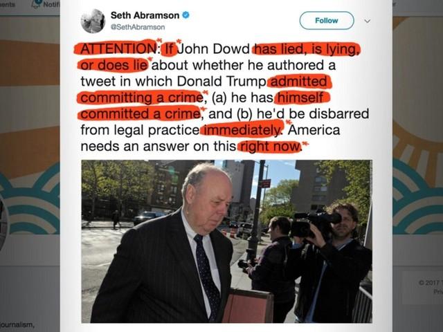Democrats: Please, Please Stop Sharing Seth Abramson's Very Bad Tweets