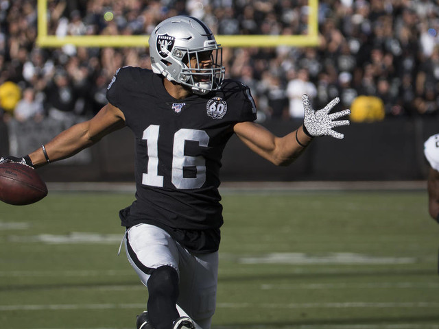 Raiders' Williams says he 'couldn't see' ball during drop in 4th quarter