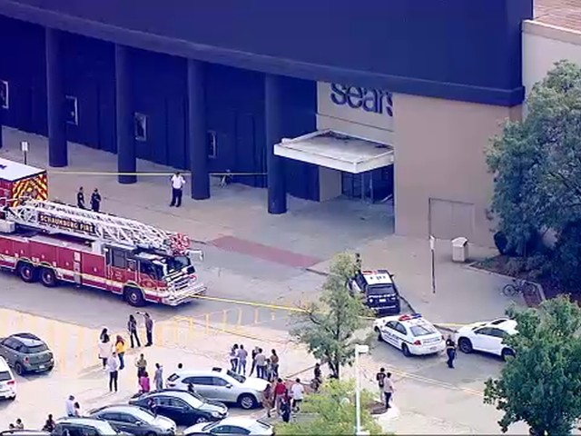 Woodfield Mall: 1 in custody after car drives through Chicago-area mall