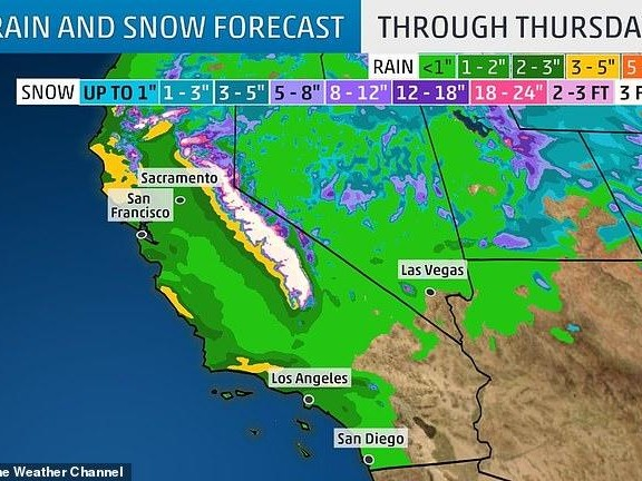 California Braces For The Next Big Storm