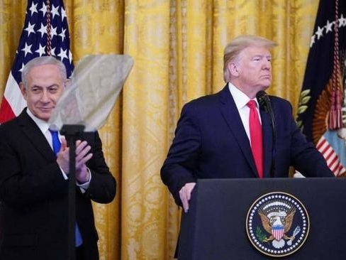 Israel Will Vote Sunday To Annex West Bank Lands Delineated In Trump's 'Peace Plan'