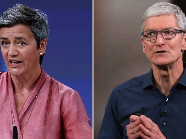 The EU accused Apple of breaking antitrust laws with its App Store rules