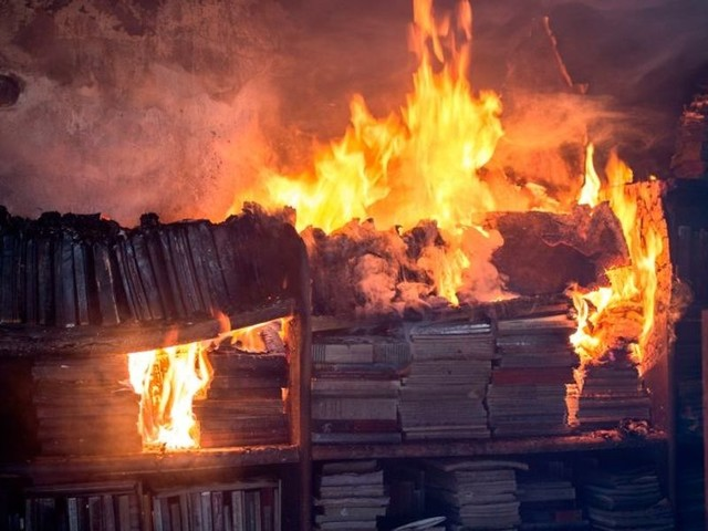 Is BOOK BURNING next? Cancel culture targets 'problematic' books