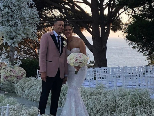 NBA ROYALTY: Seth Curry & Callie Rivers' Malibu Nuptials Were Beautiful & The Reception Was LIT