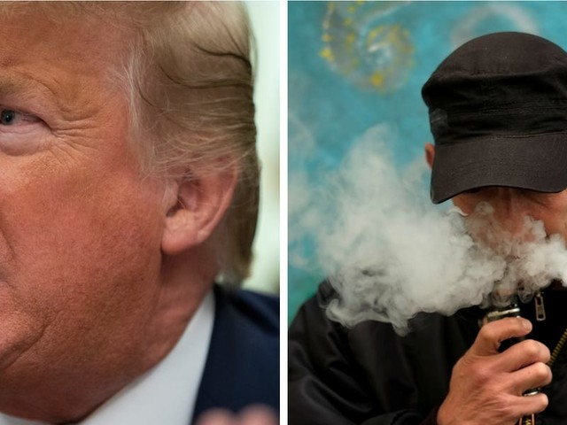 Trump reportedly said 'I should never have done that f---ing vaping thing,' expressing regrets over his involvement in e-cigarette policy