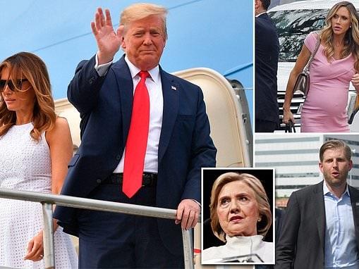 Trump's 2020 kickoff features media bashing and attacks on Joe Biden and old foe Hillary Clinton