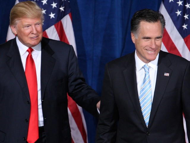 Republican Mitt Romney is the first Republican to condemn Trump Ukraine call over Biden, saying 'it would be troubling in the extreme'