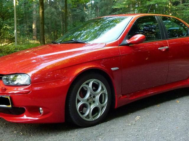 Gorgeous Red Alfa Romeo 156 GTA Is Seeking Its New Owner