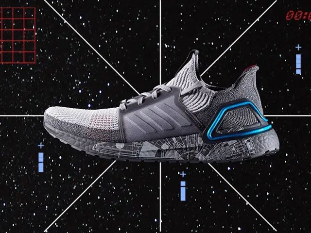 Adidas and 'Star Wars' launched their newest collaboration of space battle-themed Ultraboost sneakers