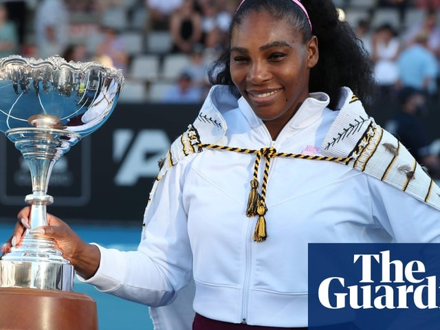 Serena Williams ends title drought with victory in Auckland Classic final