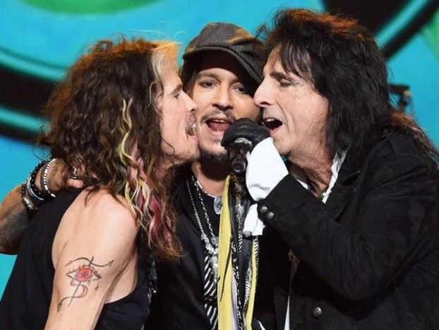 Johnny Depp, Kesha, Jessie J and More Honor Aerosmith at 2020 MusiCares Person of the Year Gala
