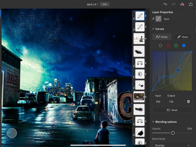 Adobe Adds Curves and Apple Pencil Pressure Sensitivity Adjustments to Photoshop for iPad